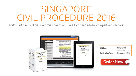 Singapore Civil Procedure 2016
