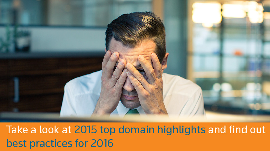2015 Top Domain Highlights